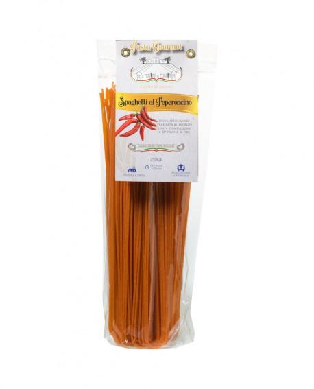 Spaghetti al Peperoncino 250g - pasta di semola di grano duro italiano trafilata al bronzo - Pastificio il Mulino di Puglia
