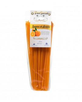 Linguine all'Arancia 250g - pasta di semola di grano duro italiano trafilata al bronzo - Pastificio il Mulino di Puglia