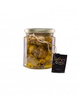 Carciofi grigliati in olio extravergine di oliva - vaso 314 ml - Agricola Fusillo