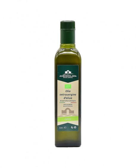 Olio extravergine d'oliva biologico - Classico 100% italiano - bottiglia 0,50 Lt - Olio di Puglia Amendolara Bio
