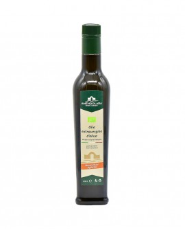 Olio extravergine d'oliva biologico - monocultivar Ogliarola barese - bottiglia 0,50 Lt - Olio di Puglia Amendolara Bio