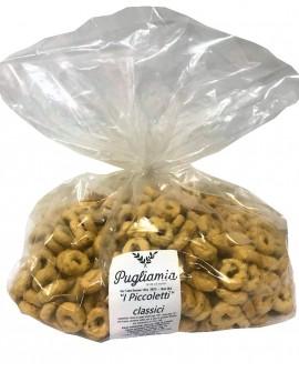 Taralli Classici artigianali, I Piccoletti - sacco 2500g - Forno Pugliamia