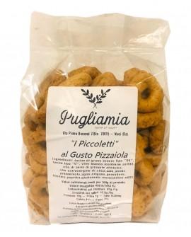 Taralli alla Pizzaiola artigianali, I Piccoletti - busta 300g - Forno Pugliamia