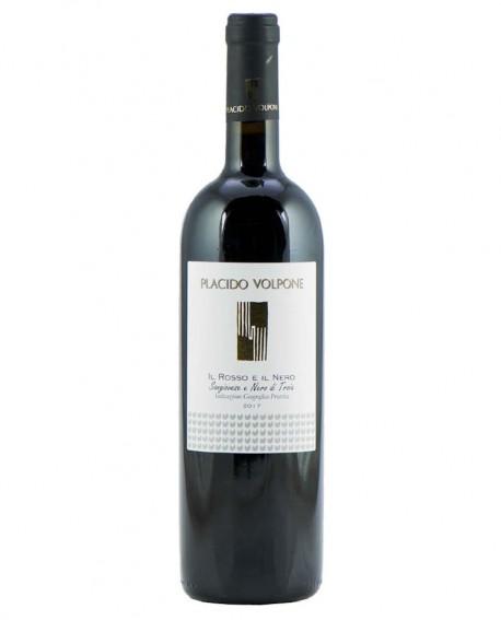 Il Rosso e il Nero IGP sangiovese e nero di troia, vino rosso - bottiglia 0,75 lt - Cantina Vini Placido Volpone