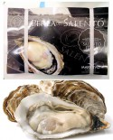 Ostriche La Perla del Salento - fresco vivo - cassetta 3kg - 28/30 pezzi - scadenza 8 giorni - Pescheria Marevivo Castro