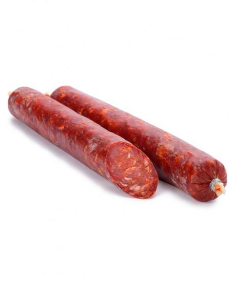 Sfizietto Piccante - salsiccia intera sottovuoto 500g - Salumificio De Luca