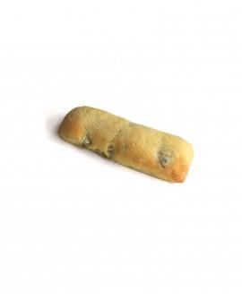 Bastoncino alle Olive surgelato 35g -cartone sfuso n.172 pezzi- Pane Altamura di semola rimacinata di grano duro - Mininni Buene