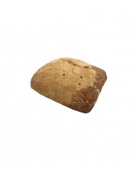 Ciabattina multicereali surgelata 30g - Pane di Altamura multicereali - cartone sfuso n.184 pezzi - Mininni Buene Altamura