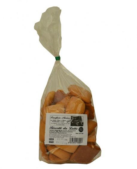 Biscotti da latte artigianali 500 g – cottura nel forno a legna - Panificio Misino