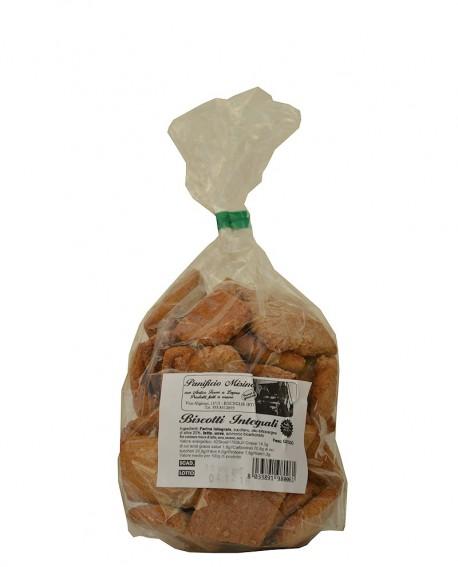 Biscotti integrali artigianali 500 g – cottura nel forno a legna - Panificio Misino