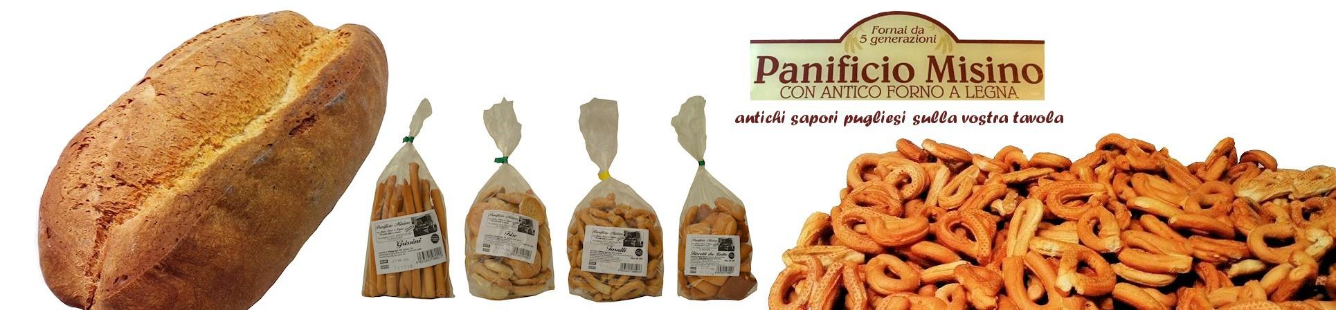 vendita online grissini pugliesi - PANIFICIO MISINO acquista online