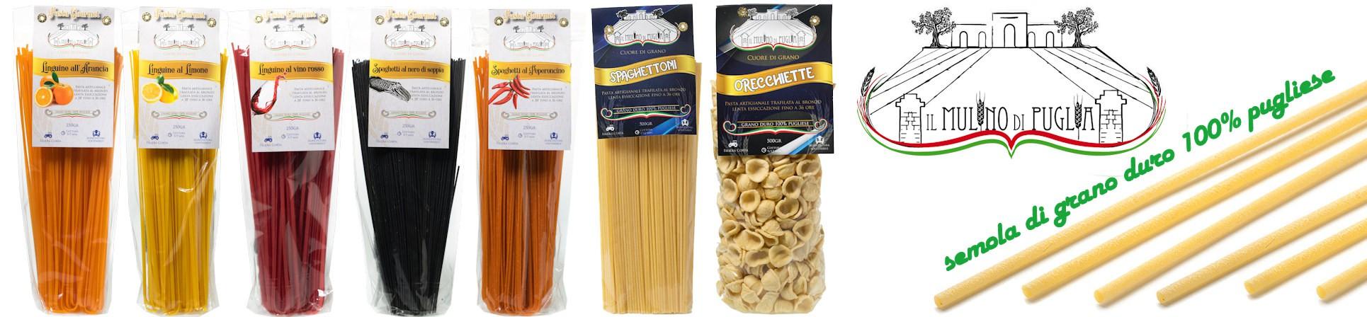 vendita online spaghettoni pasta semola di grano duro pugliese - PASTIFICIO IL MULINO DI PUGLIA acquista online