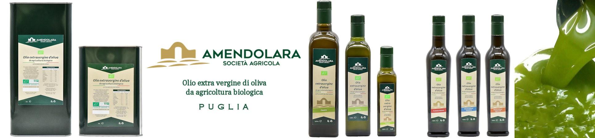vendita online olio extra vergine d'oliva pugliese - AMENDOLARA BIO