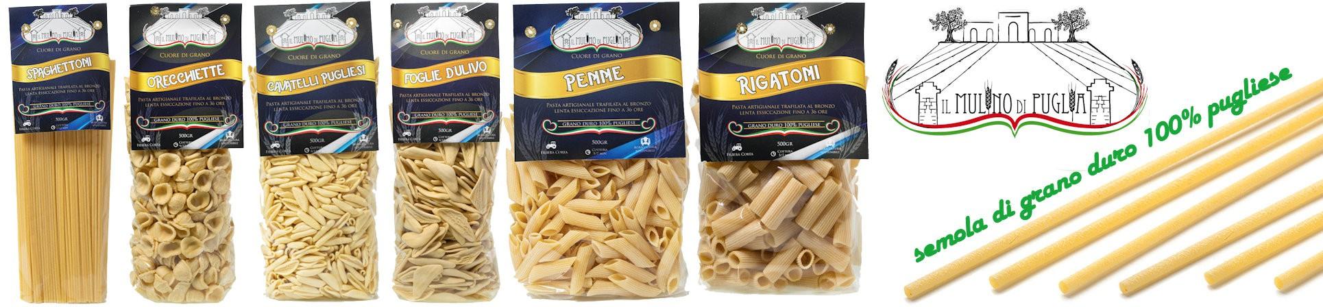 vendita online pasta artigianale pugliese - Pastificio il Mulino di Puglia